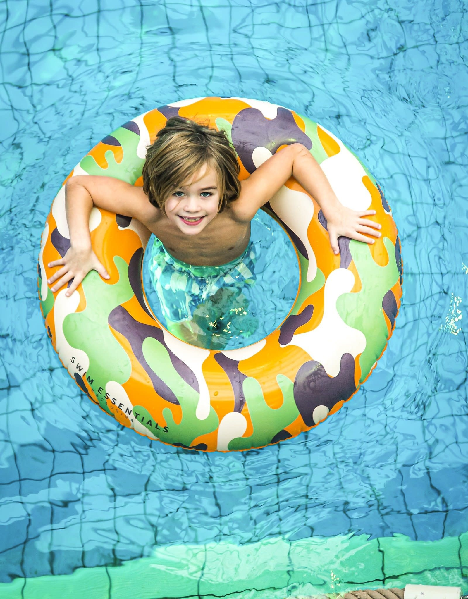 Swim Essentials Zwemband Camouflage groot