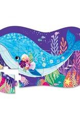 Crocodile Creek Minipuzzel Whale Wonder 12st.