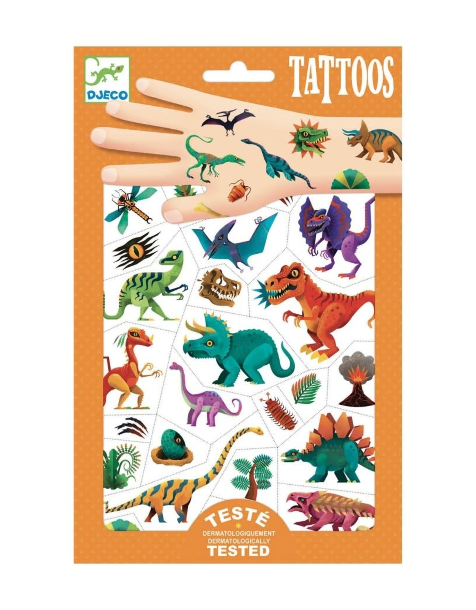 Djeco Tattoos Dino Club