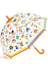 Djeco Paraplu Faces