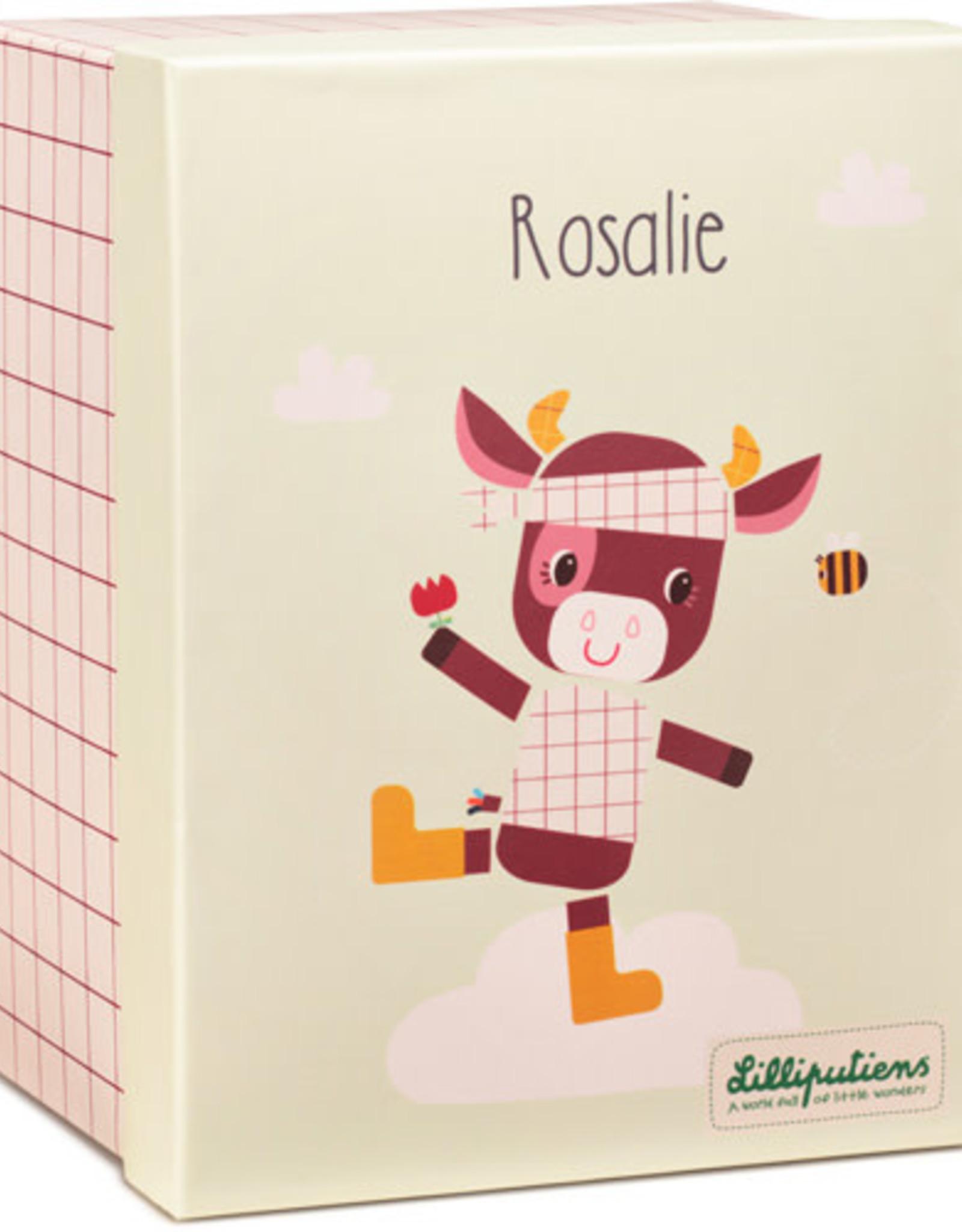 Lilliputiens Knuffel Rosalie Organic