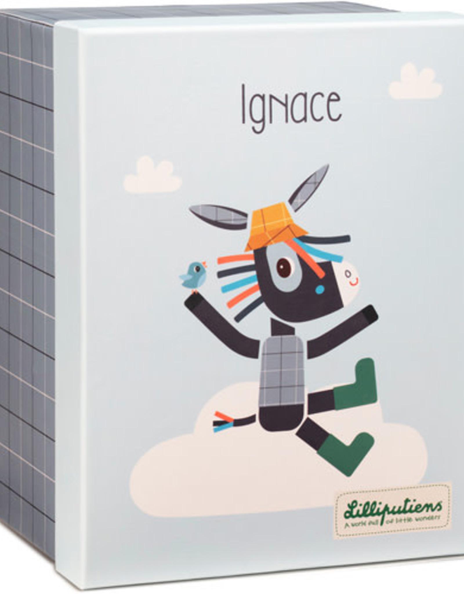 Lilliputiens Knuffel Ignace Organic