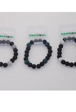 Armband Lava zwart