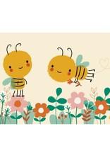 Postkaart Save the bees