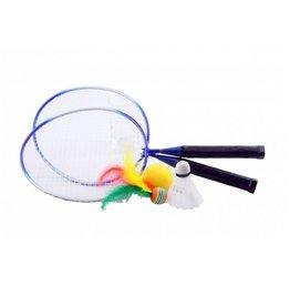 Badmintonset met korte steel