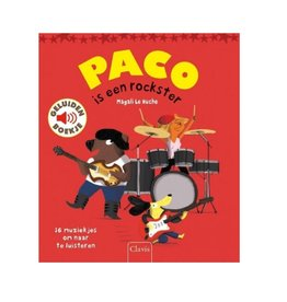 Clavis Paco is een rockster