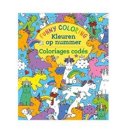 Deltas Funny Coloring Kleuren op nummer