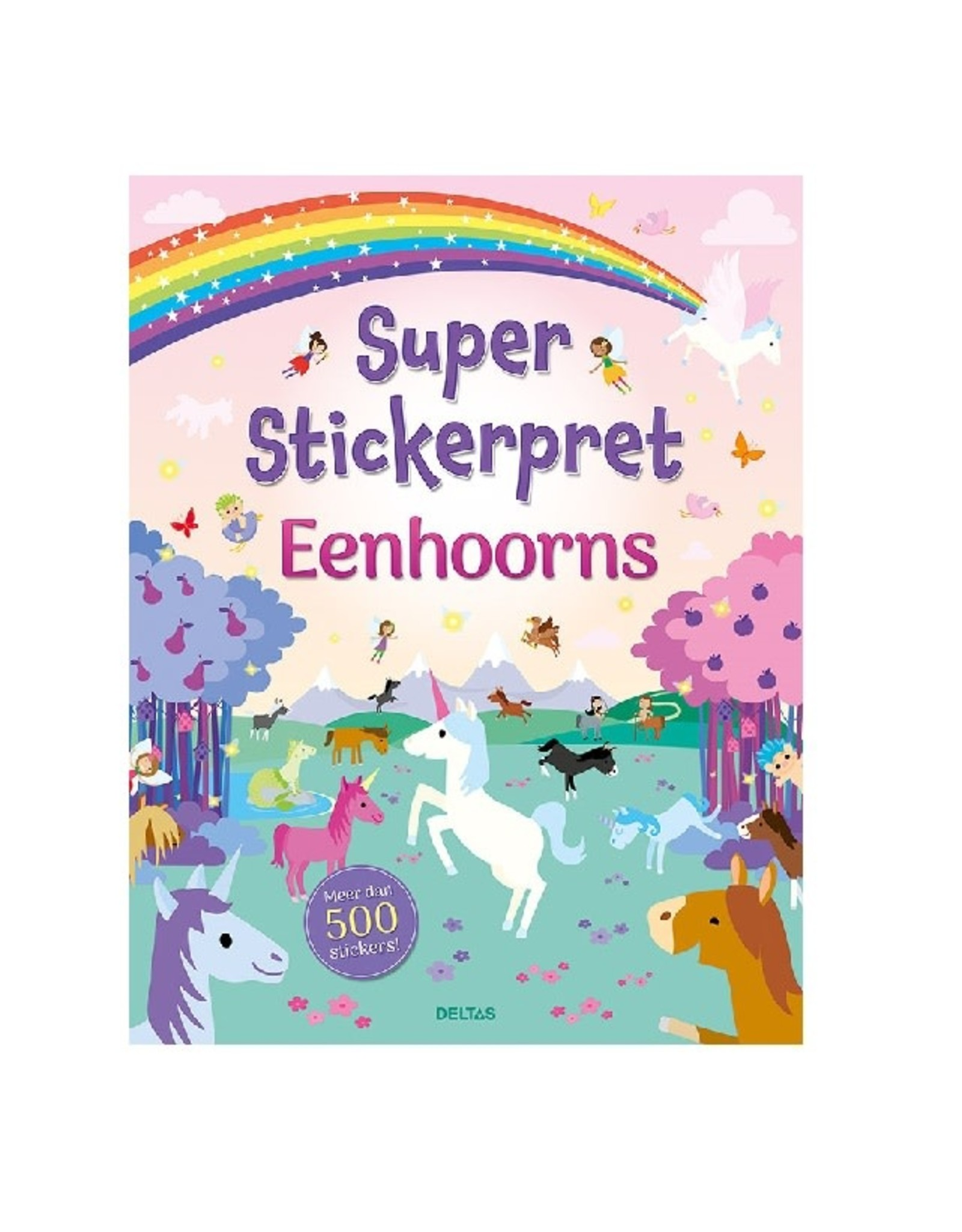 Deltas Super Stickerpret Eenhoorns