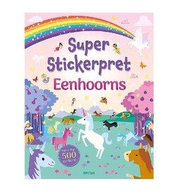 Deltas Super Stickerpret Eenhoorns