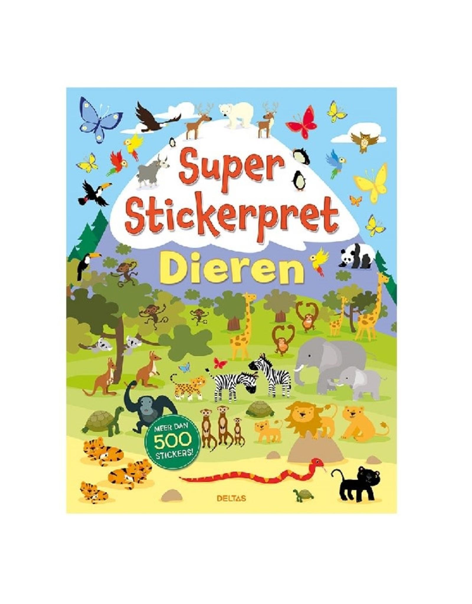 Deltas Super Stickerpret Dieren