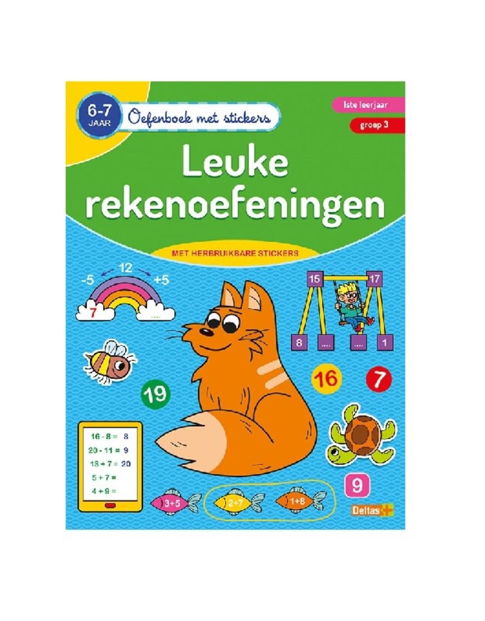 Deltas Oefenboek met stickers