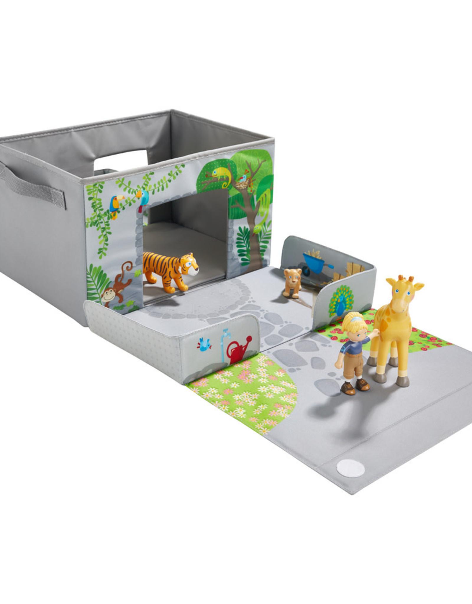 HABA Speelset en opbergdoos In de zoo