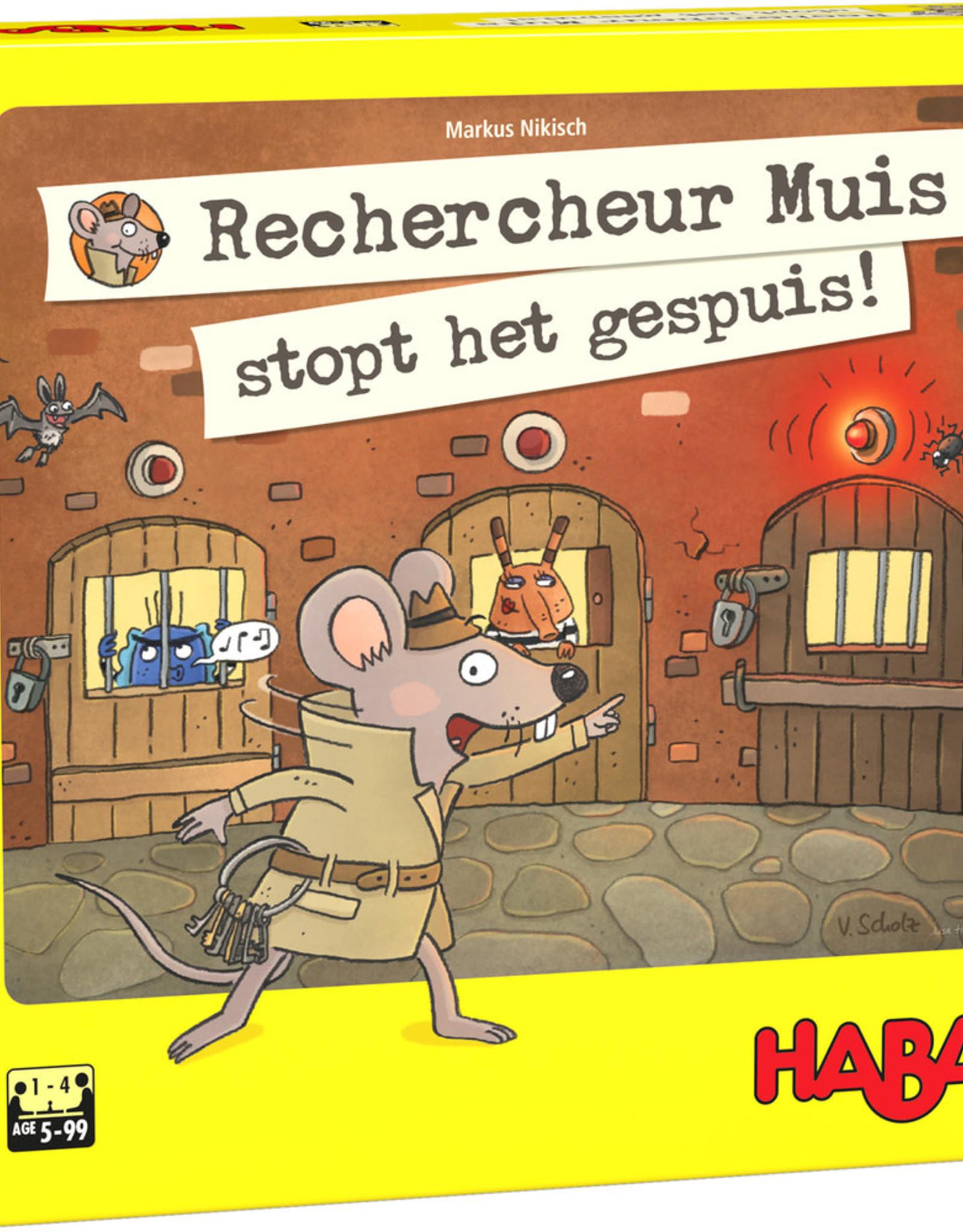 HABA Rechercheur Muis stopt het gespuis!