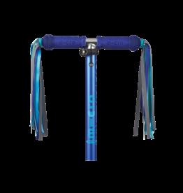 Micro Step Stuurlinten blauw reflecterend