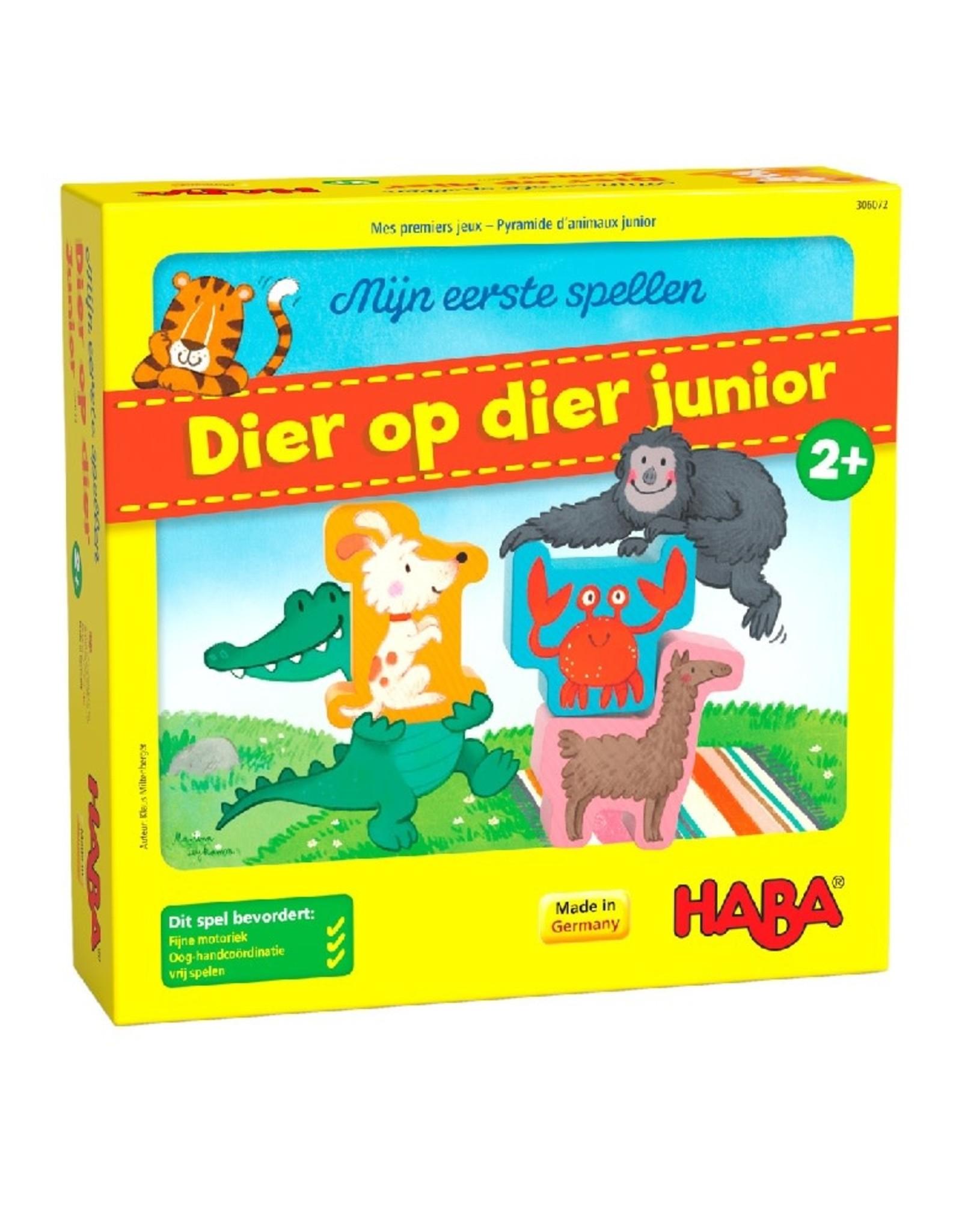 HABA Eerste spel Dier op dier junior
