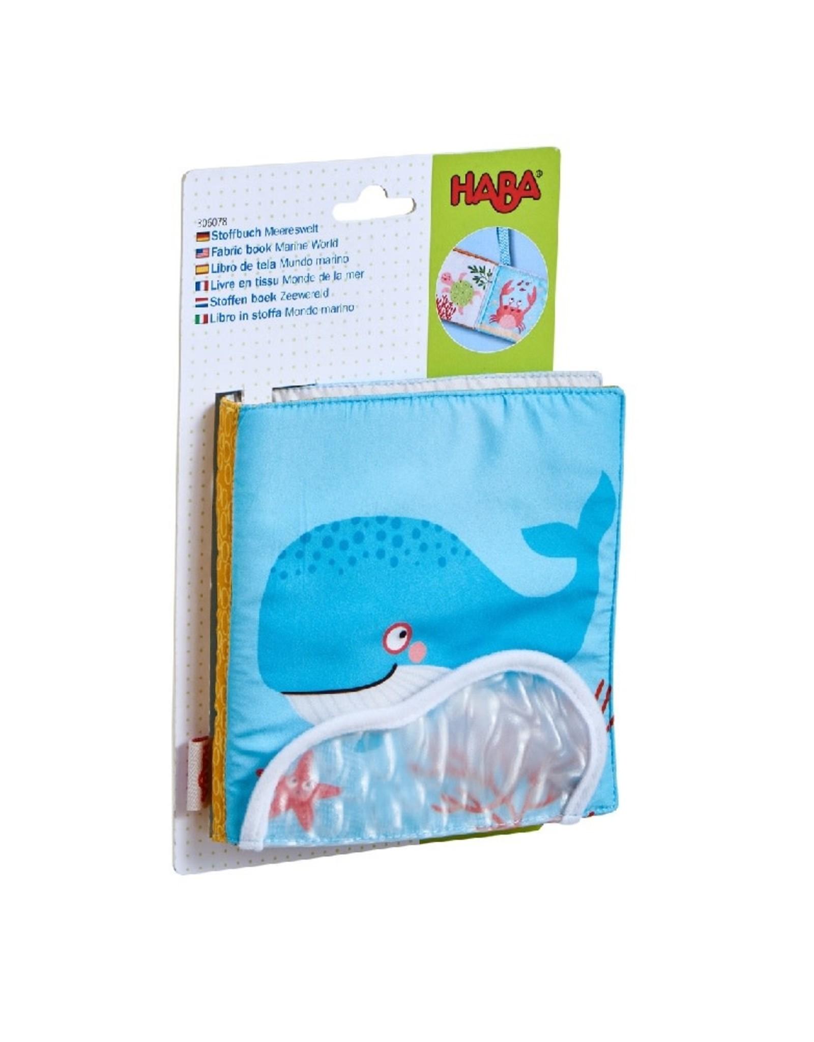 HABA Stoffen boek Zeewereld