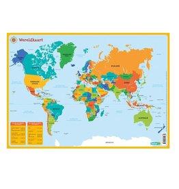 Deltas Placemat Wereldkaart