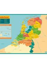 Deltas Placemat Kaart Nederland
