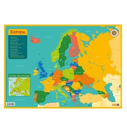 Deltas Placemat Kaart Europa