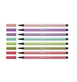 Viltstiften Pen 68 8 stuks NIEUWE KLEUREN