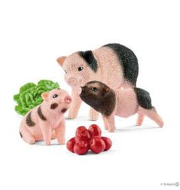 Schleich Minivarken Met Biggetjes