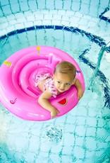 Swim Essentials Babyzwemband Tropical pink