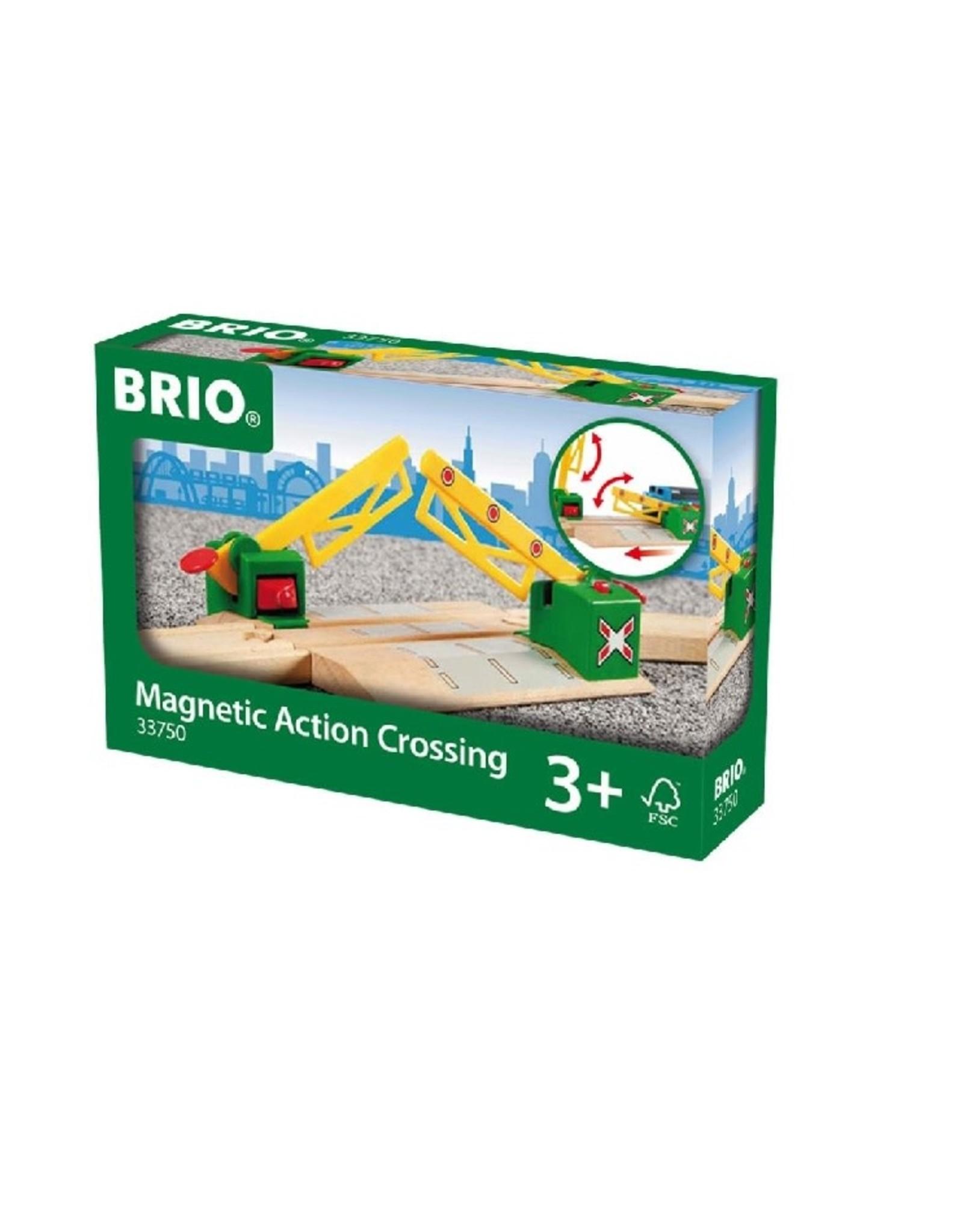 Brio Magnetic Action Crossing