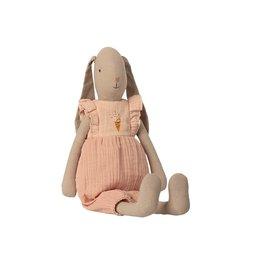 Maileg Haas Bunny met roze jurk Size 3