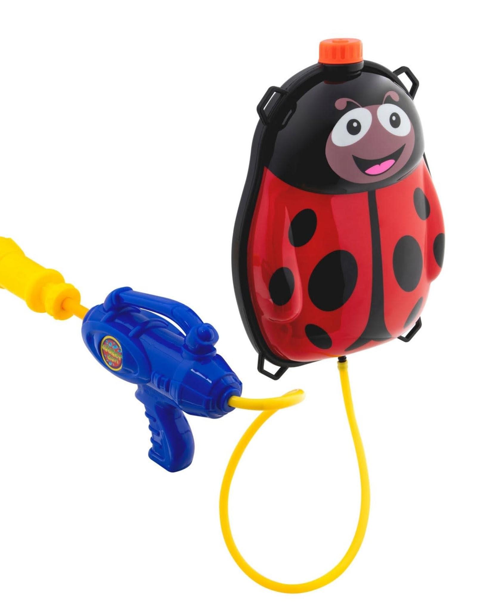 Waterpistool met watertank Lieveheersbeestje