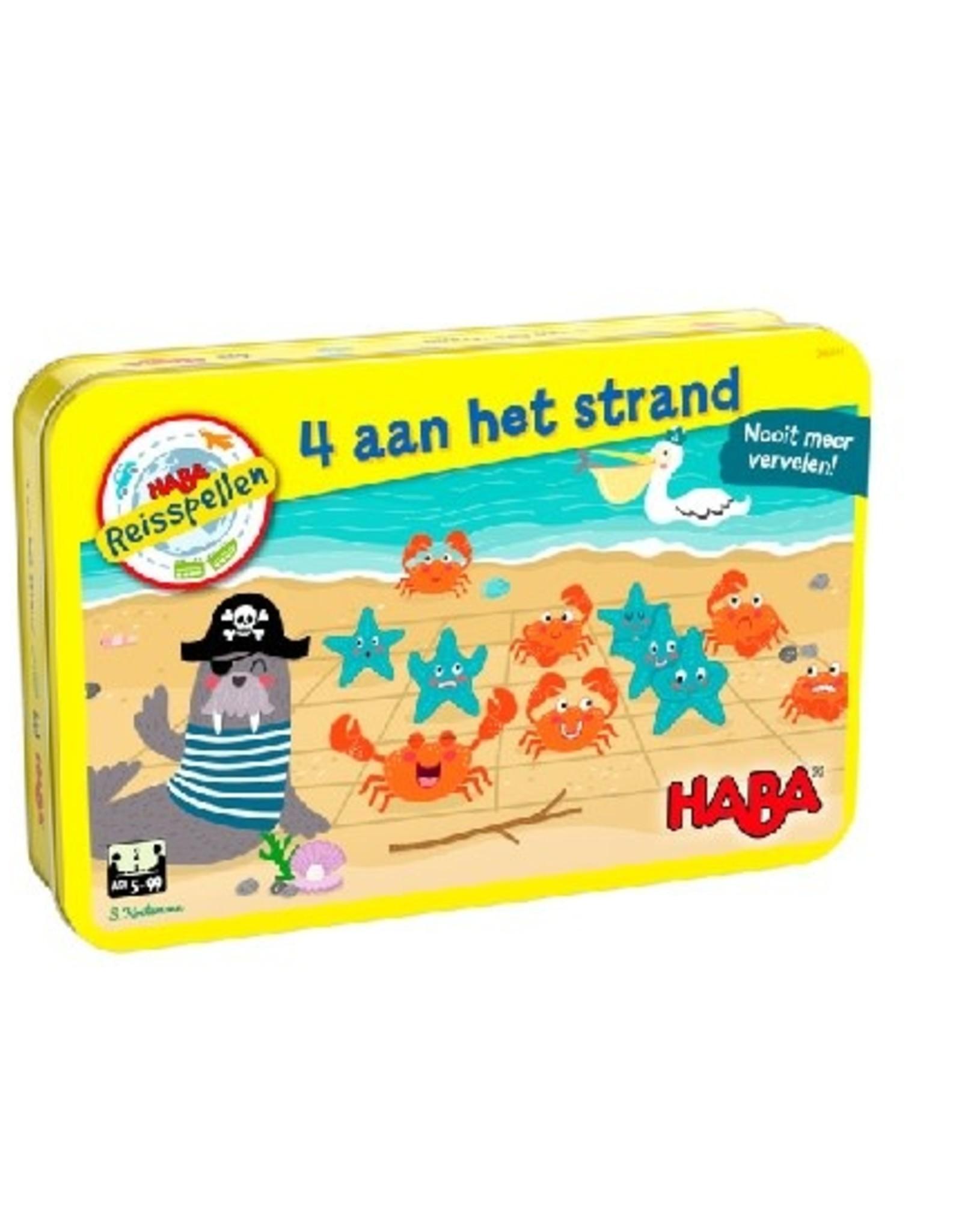 HABA 4 aan het strand