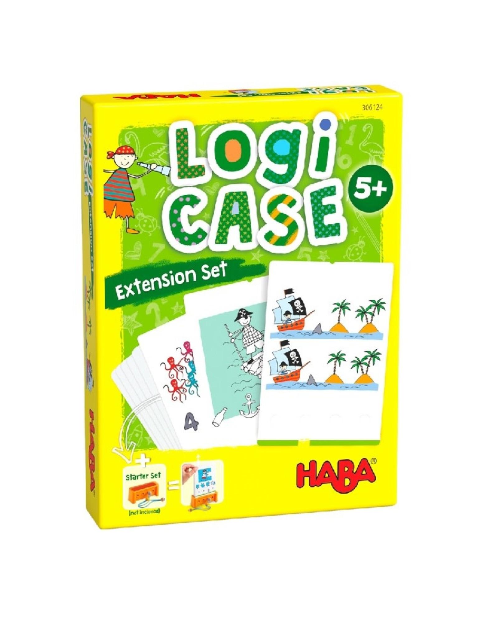 HABA LogiCASE uitbreidingsset Piraten