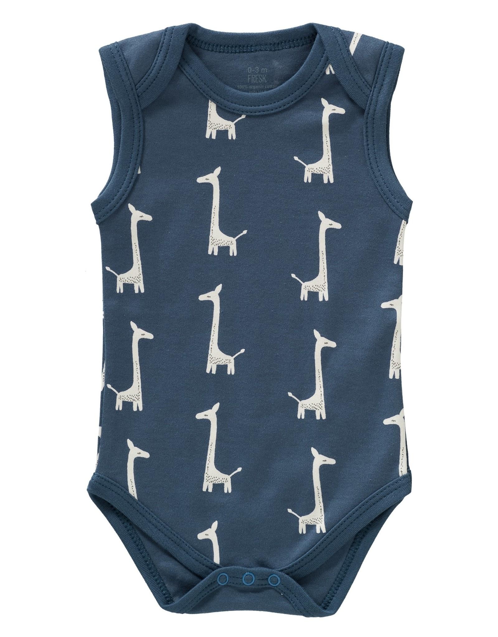 Fresk Rompertje Giraf Indigo blue