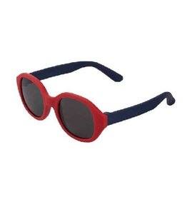 Zonnebril Flex rood/navy