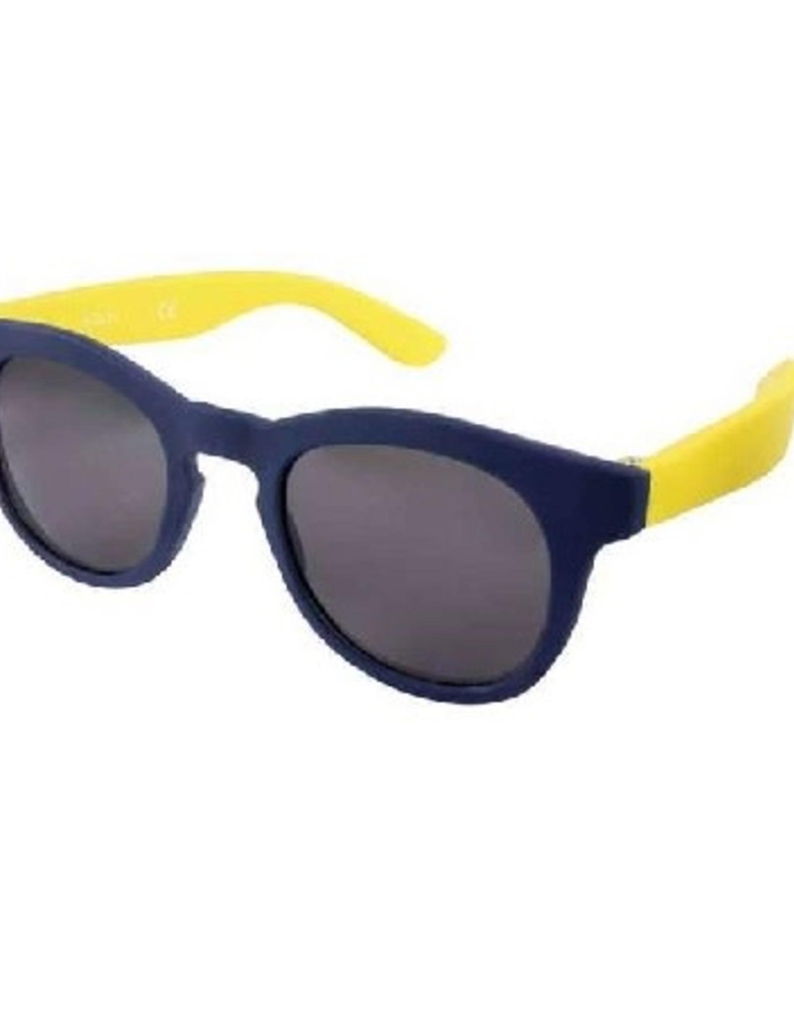 Zonnebril Flex RB navy/geel