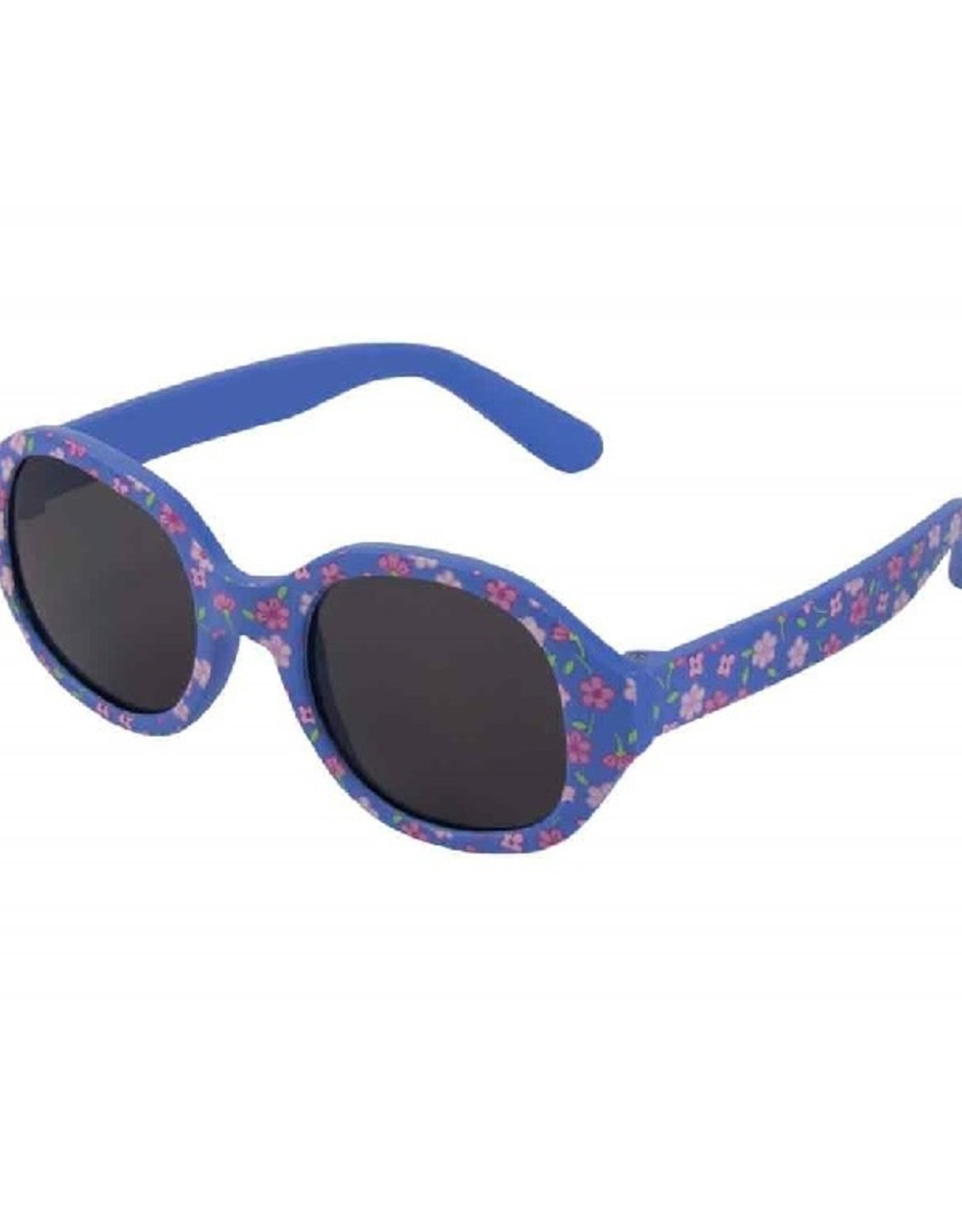 Zonnebril Flex Bloemetjes blauw