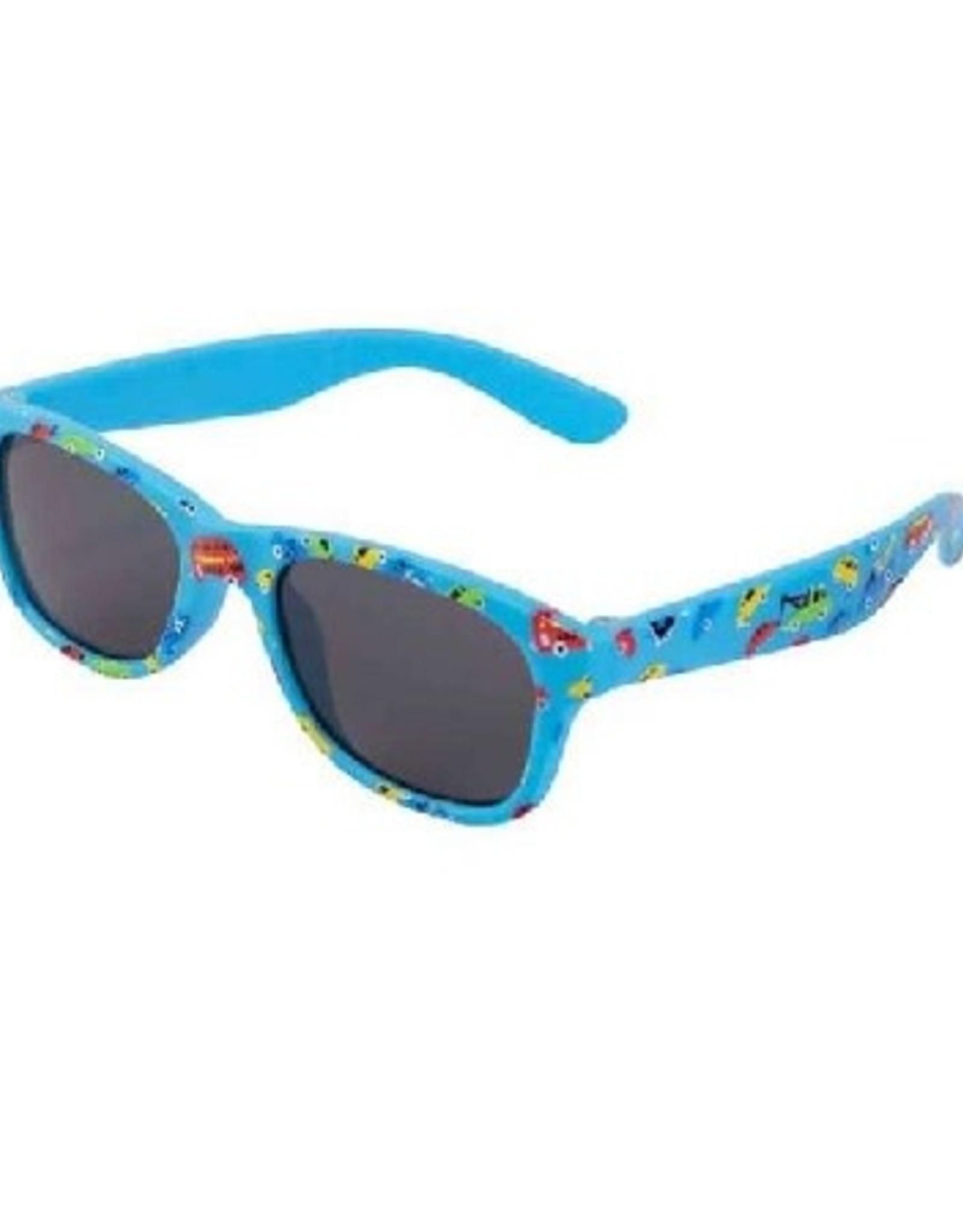 Zonnebril Flex Autootjes blauw
