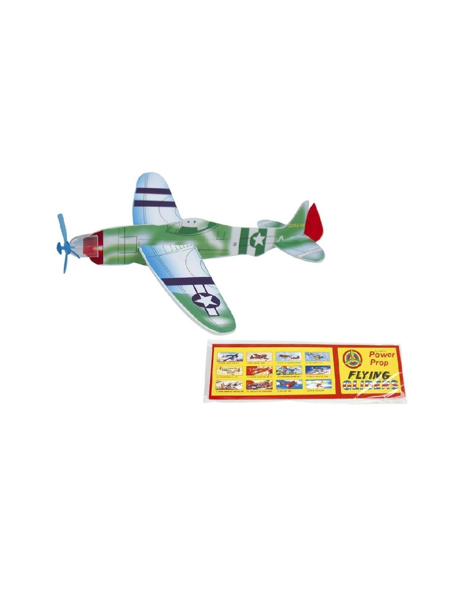 Werpvliegtuigje Oldtimer