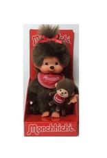 Monchhichi Monchhichi meisje met mini Monchhichi
