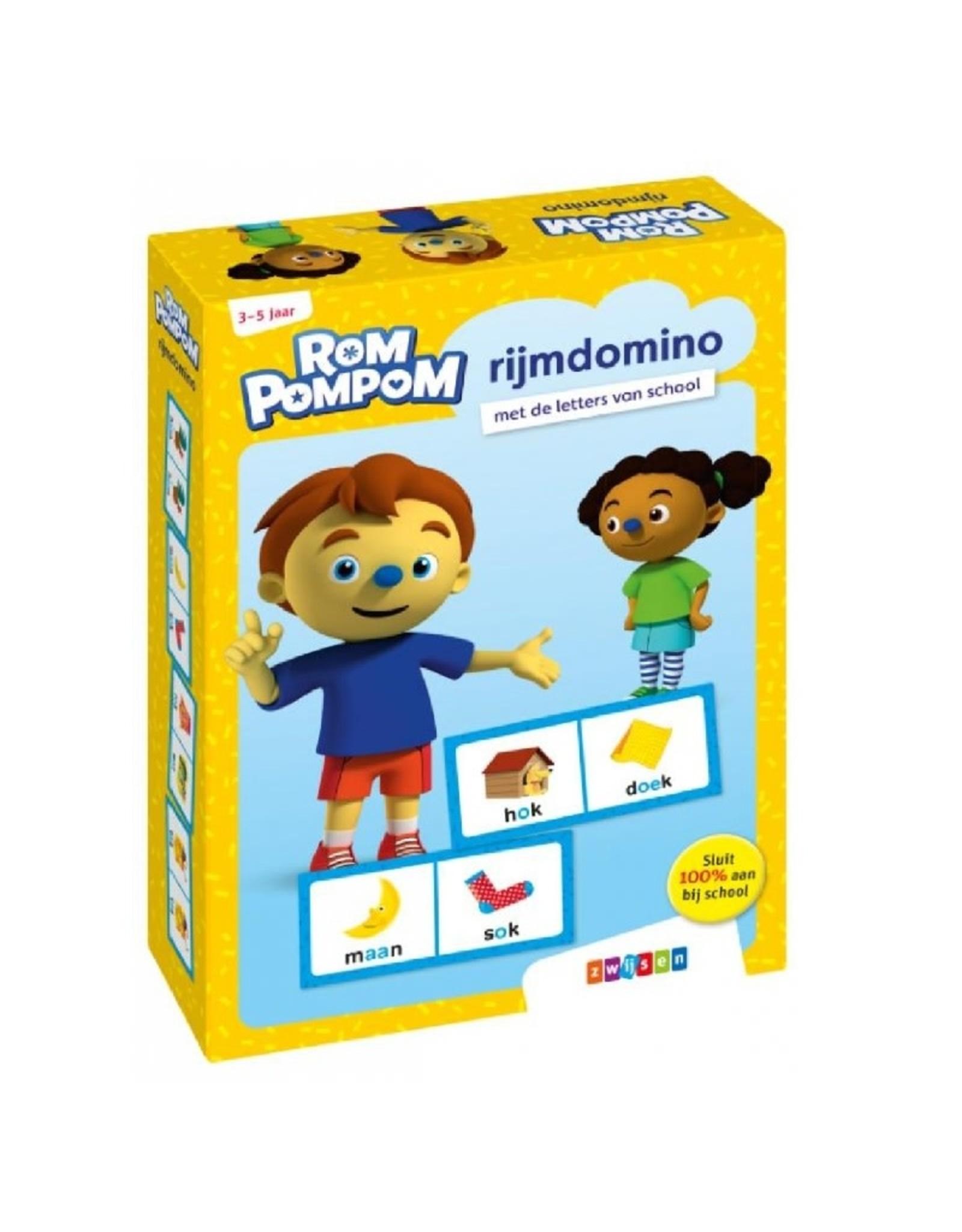 Zwijsen RomPompom Rijmdomino