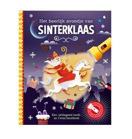 Lantaarn Zaklampboek Het heerlijk avondje van Sinterklaas