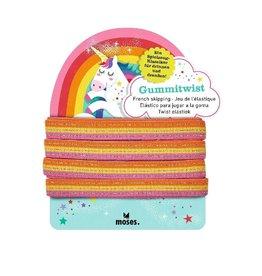 Twist elastiek Rainbow