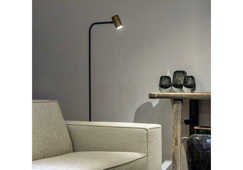 Frezoli Lighting Vloerlamp Tubino koper