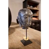 Boeddha hoofd steen