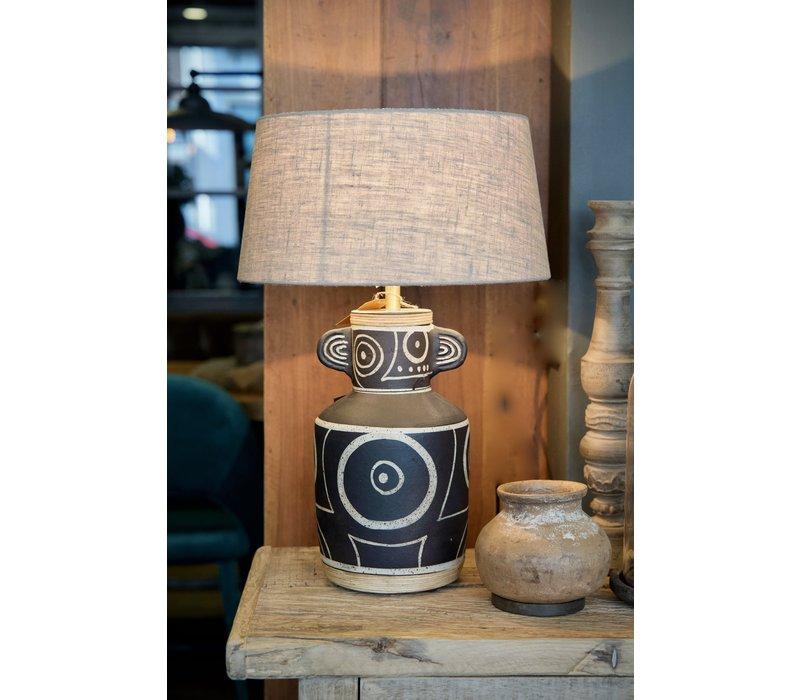 Tafellamp Terracotta