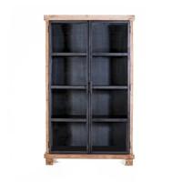 Vitrinekast Solid 2-deurs