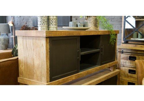 Industrieel TV meubel Solid