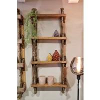 Oud wandrek ladder