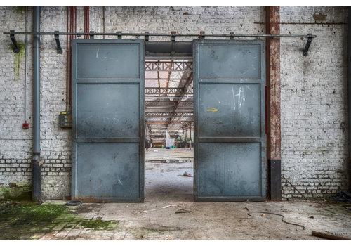 Wandkleed  Spinning Doors 145 x 190 cm