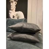 Kussen Argentina Blauw-Grijs 50x50 cm