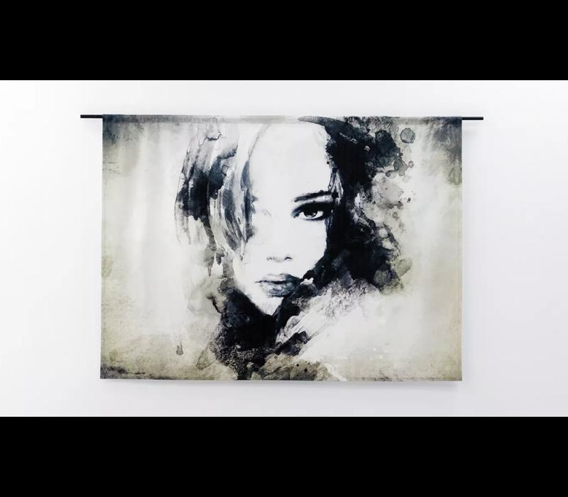 Wandkleed The Look 190 x 145 cm